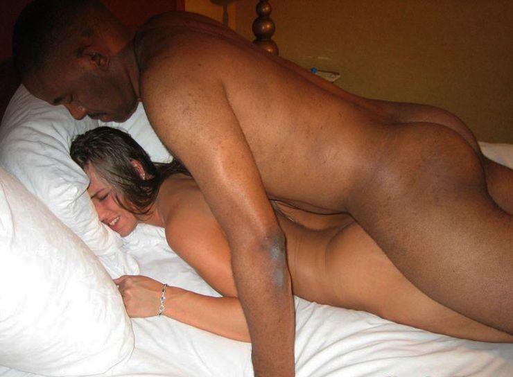 Wife Licks His Black Ass