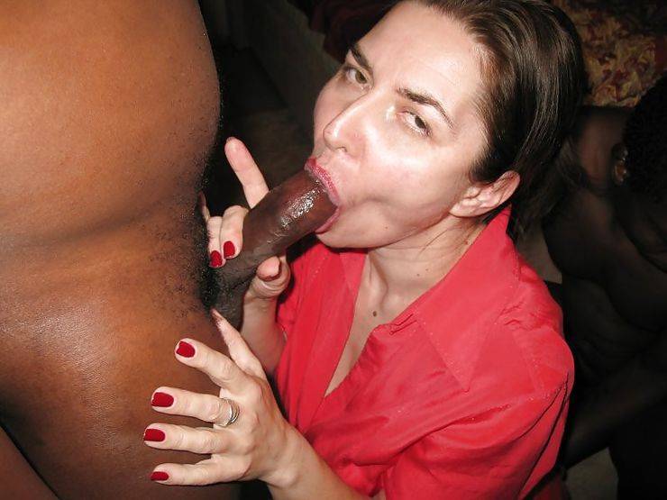 Give Mommy a Black Dick to Suck Good