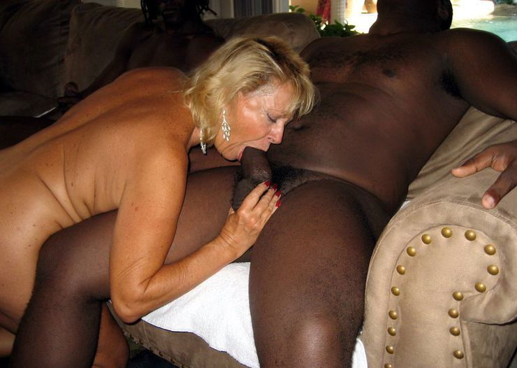Granny Interracial Cum Swallow